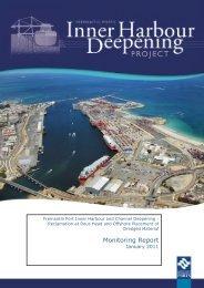 Monitoring Report - Fremantle Ports