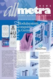 News Industria N°35 - Metra SpA