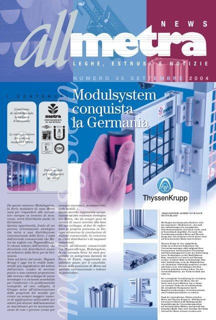 News Industria N°35 - Metra SpA