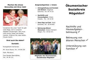 Ökumenischer Sozialkreis Mögeldorf - Seelsorgebereich St. Karl