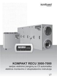 KOMPAKT ReCU 3000-7000 - Komfovent.com