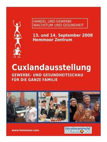 Cuxlandausstellung - Unternehmergemeinschaft Stadt Hemmoor eV