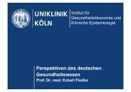 Vortrag als pdf herunterladen - Integrierte Versorgung