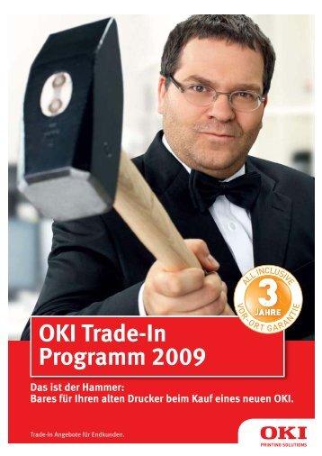 OKI Trade-In Programm 2009
