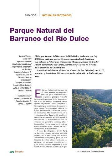 Parque Natural del barranco del Río Dulce - redforesta