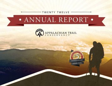 Annual_Report_2012 - Appalachian Trail Conservancy