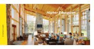 Higher Education Specialty Practice Group Brochure - Cooper Carry