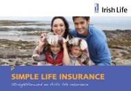 SIMPLE LIFE INSURANCE - Irish Life