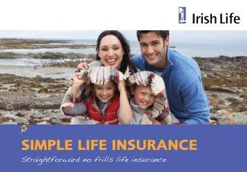 SIMPLE LIFE INSURANCE - Irish Life