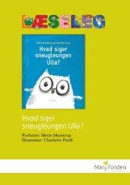 Hvad siger sneugleungen Ulla? - mitBUF.dk