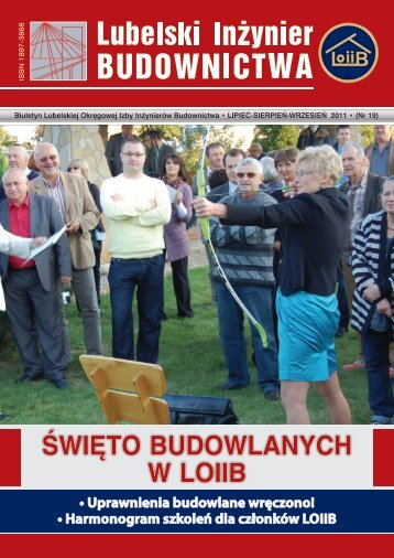 Nr 19. Pobierz w formacie PDF (10 MB) - Lubelska Okręgowa Izba ...