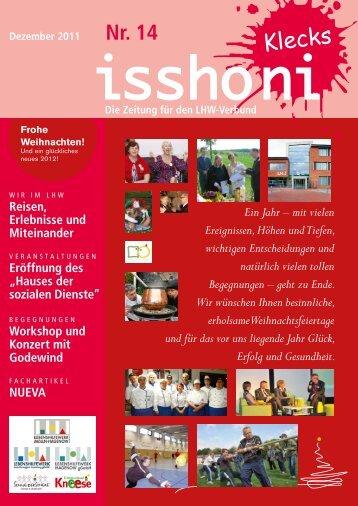 Isshoni Dezember 2011 - Lebenshilfewerk Mölln-Hagenow gGmbH