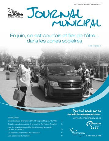 Juin 2013 - Ville de Montmagny