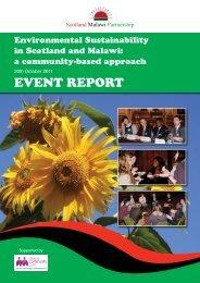 EvEnt REpoRt - Scotland Malawi Partnership
