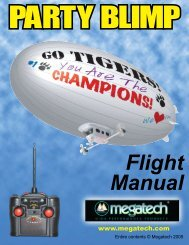 Party Blimp - High Definition Radio Control