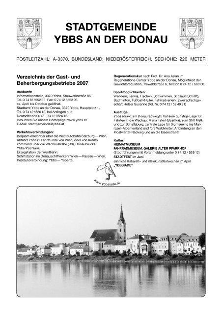 Stadtgemeinde Ybbs An Der Donau