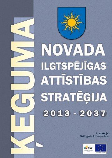 Ilgtspējīgas attīstības stratēģijas 2013. -2037 ... - Birzgales pagasts