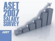 ASET Salary Survey Report 2007