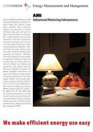 We make efficient energy use easy - Iskraemeco