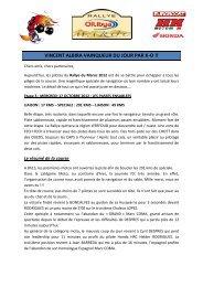 Compte-rendu OILYBIA 12 3ème étape - Elka Suspension