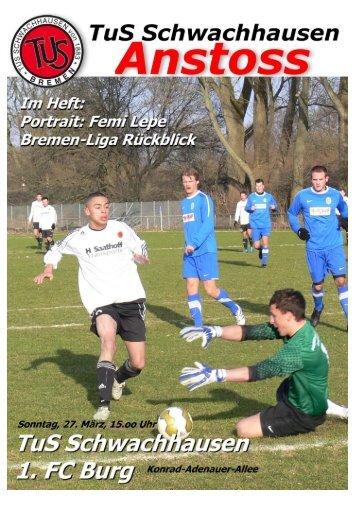 Download ANSTOSS März 2011 - beim TuS Schwachhausen