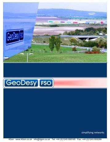 GeoDesy GD Systems Datasheet (PDF) - 4Gon