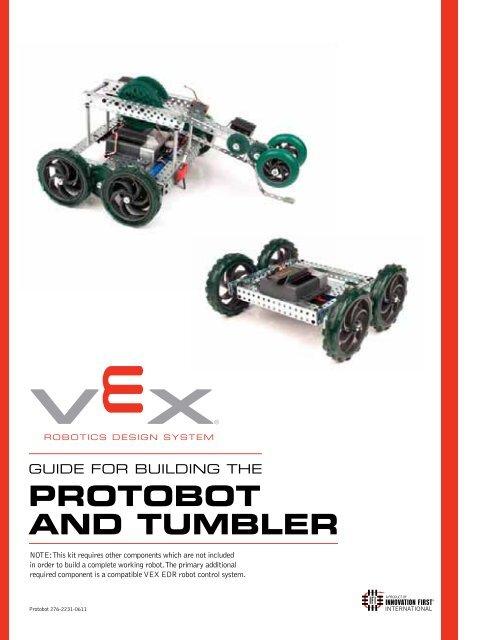 PROTOBOT AND TUMBLER - VEX Robotics