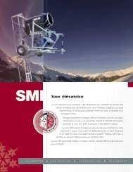 Carriage Lift Tower (Fr) - Snow Machines, Inc.