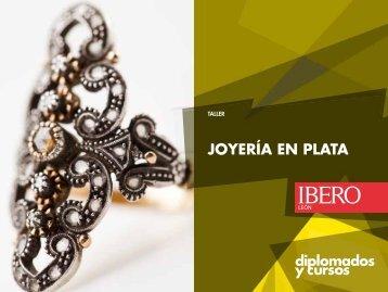 JOYERÍA EN PLATA - Universidad Iberoamericana León
