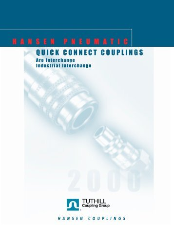 Aro - Hansen Pneumatic Couplings - Chester Paul Company
