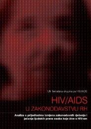HIV/AIDS u zakonodavstvu Republike Hrvatske
