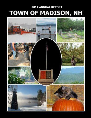 TOWN TOWN OF MADISON, NH - the Town of Madison