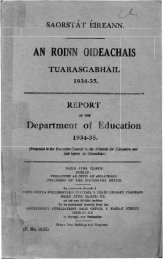 1934-1935 - Department of Education and Skills
