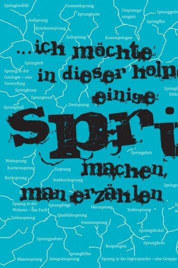 Hinein ins Vergnügen - Theater Rudolstadt