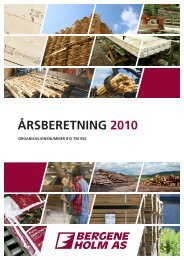 ÅRSBERETNING 2010 - Bergene Holm