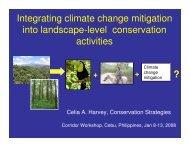 Integrating climate change mitigation into landscape-level ... - Library