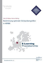 Praxisbericht 27 - ERCIS - European Research Center for ...