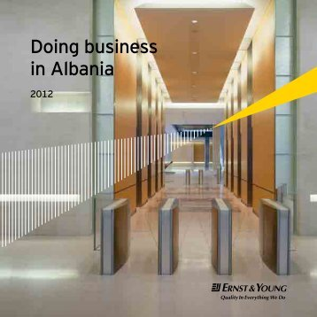 Doing business in Albania