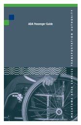 ADA Passenger Guide - Macatawa Area Express
