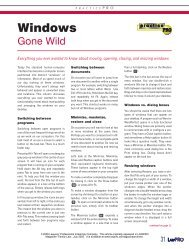 Windows Gone Wild (LAWPRO Magazine, July ... - practicePRO.ca