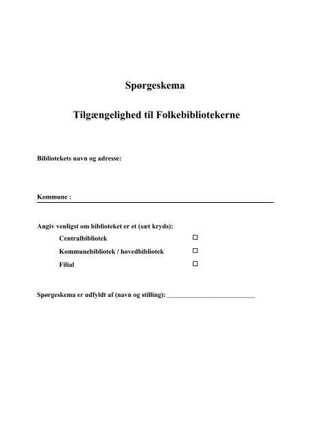 Spørgeskema (pdf - 257kb)