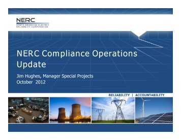 Compliance Seminar Nashville - Oct 2-3, 2012 - NERC Report.pdf