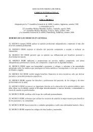 Código Internacional de Ética Médica - CGCOM