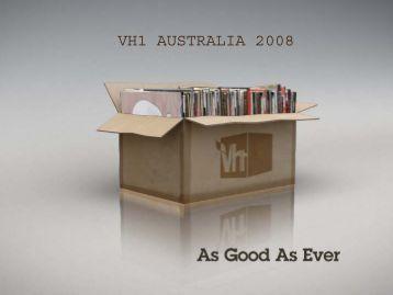 VH1 AUSTRALIA 2008