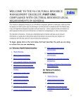 Cultural Resource Management Checklist - Office of Construction ... - Page 2