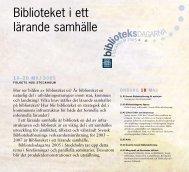 pdf-dokument hämtar du här. - Svensk Biblioteksförening