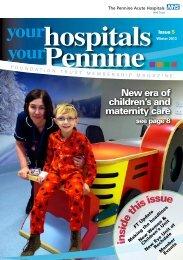 AS members of the - Pennine Acute Hospitals NHS Trust
