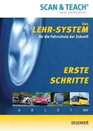 LEHR-SYSTEM ERSTE SCHRITTE - Degener