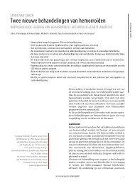 artikel uit het Nederlands Tijdschrift voor Geneeskunde (NTVG)