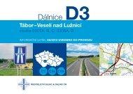 Dálnice D3 tábor–Veselí nad lužnicí - Ředitelství silnic a dálnic